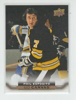(63873) 2015-16 UPPER DECK CANVAS PHIL ESPOSITO #C245