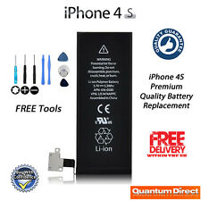 NEW Premium Quality Battery Replacement 1430mAh FREE Tools FOR iPhone 4S