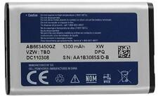 NEW OEM Original Samsung Battery AB663450GZ Convoy SCH-U640 Convoy II 2 SCH-U660