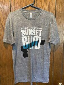 BNWOT AMERICAN APPAREL ANDREW LLOYD WEBBER'S SUNSET BLVD BROADWAY SHOW T-SHIRT M