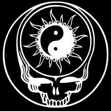 SYF Yin Yang Sun Decal Sticker Grateful Dead Jerry Garcia Hippie Rock n Roll