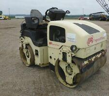 2007 Ingersoll Rand Dd34hf Tandem Vibratory Roller Kubota Diesel