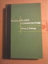 The Study of Plant Communities by Henry j. Oosting 1956 Hardcover Good Condition