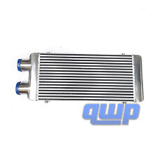 "New Universal Front Mount Aluminum Intercooler 31.5""X13""X3"" Polished Turbo"