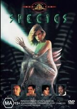 SPECIES (Natasha HENSTRIDGE Ben KINGSLEY Michael MADSEN) HORROR DVD Region 4