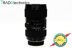 (💎Mint) Sigma 18-35mm f/1.8 DC HSM Art 013 Lens For Nikon D5300 Box+Case+Hood