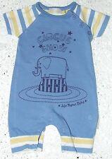JoJo Maman Bébé 100% Cotton Striped Boys' Babygrows & Playsuits (0-24 Months)