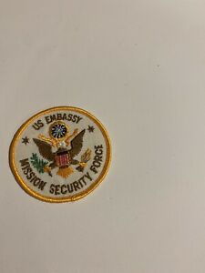 United States Embassy Mission Security Force Patch *