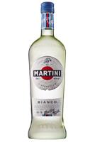 Martini Bianco Vermouth L'Aperitivo Cocktail Bottiglia Vetro da 1 Litro Italia