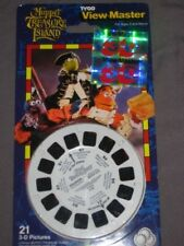 View-Master 3 reel pack mint Muppets Treasure Island Variation hologram sticker