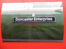 PHOTO  NAMEPLATE - DONCASTER ENTERPRISE ON CLASS 47 LOCO NO 47522