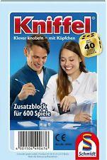 Schmidt Spiele 49067 KNIFFELBLOCK Ersatzblock für 600 Spiele  NEU! OVP !