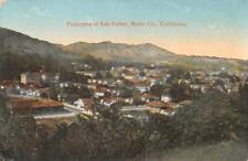 Panorama of San Rafael, Marin County, California ca 1910s Vintage Postcard