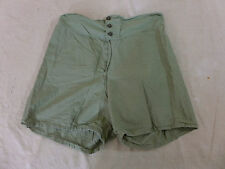 #23 US Original Shorts Uniform underwear trousers 1944 Unterhose olive drab sz32
