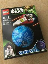 Lego 75006 - Star wars Planets Jedi Starfighter & Kamino- 2013 Factory sealed