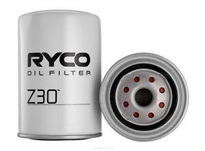 Ryco Oil Filter Z30 fits Holden Monaro HG 3.0 186 (Red), HG 4.2 V8 253 (Red),...