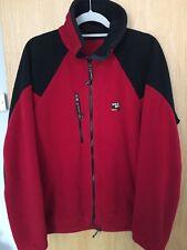 Sprayway Red And Black Zip Up Pocket Fleece XL