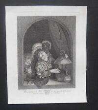 Gravure XVIIIème -  Du Cabinet de M. Le Duc de Choiseul - Charles Van Werss