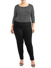 Lifestyle Attitudes  Women's Plus Size Pull On Career Pant W/ Tummy Control 20W