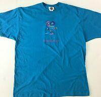 Mens Vintage 90s Universal Studios Florida Theme Park T Shirt Size XL