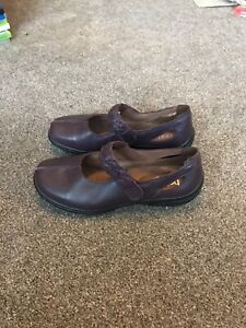 Hotter Comfort Concept purple leather shoes, size 5.5 / Eur 38.5, EXF. New.