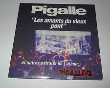 Pigalle - les amants du vieux pont - cd promo 4 titres - 1992