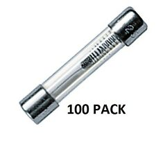 "100 PACK - 20 AMP MDL/3AG ""SLO-BLO"" FUSES - 1.25"" GLASS-TYPE FUSES #MDL20-100PK"