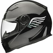 ANGEL WINGS Motorbike Helmet Sticker Car Decals (Pair) 80mm x 40mm