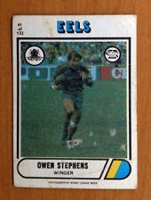Parramatta Eels Single 1976 Season NRL & Rugby League Trading Cards