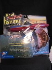 RARE! - REEL BASS BOAT FISHING Game - Sealed NEVER USED - Playmates Electronix