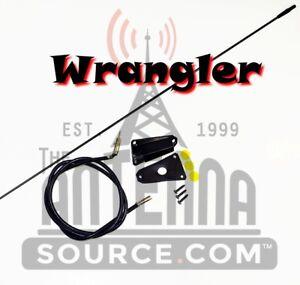 Jeep CJ and Wrangler YJ 1973-1995 BLACK MANUAL ANTENNA 82200683