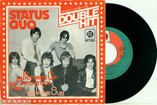 "STATUS QUO ""Pictures of Matchstick Men / Ice in the Sun"" GERMAN DOUBLE HIT PS 45"