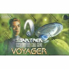Star Trek CCG VOYAGER BOOSTER BOX Decipher Limited Edition - VERY RARE !!