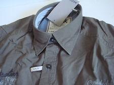 § collection mexx chemise XS homme manche courte slim fit marron INSPIRATION