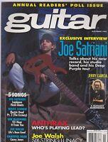 NOV 1995 GUITAR vintage music magazine JOE SATRIANI