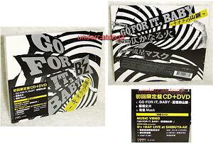 B'Z (BZ) Go For it, Baby - Kioku no Sanmyaku Taiwan Ltd CD+DVD