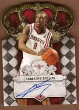 Jermaine Taylor 2009-10 Crown Royale Auto RC Rockets