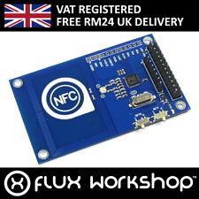 NFC RFID Module IC 13.56MHz PN5322 Card Key Fob Arduino SPI I2C Flux Workshop