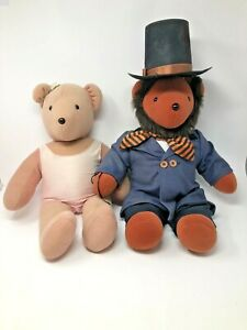 1979 Vintage North American Bear Company Lot Abraham Lincoln Very Important Bear