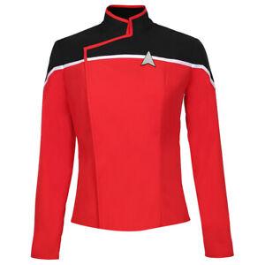 Star Trek Lower Decks Season1 Cosplay Costume Blue & Yellow & Red Uniform Jacket