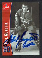 Phil Goyette signed autograph auto Molson Export Hockey Trading Card