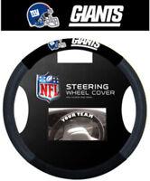 New York Giants Steering Wheel Cover NFL Football Team Logo Poly Mesh
