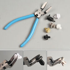 17.5cm/6.9inch Car Rivet Diagonal Plier Fastener Trim Clip Cutter Remover Puller