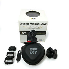 Rode iXy Stereo Microphone Lightning Connector Rode Mic i-Xy L Open Box