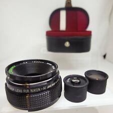 Cherry Multi Power 35MM F5.6 Lens & 2x TeleConverter - Nikon AI Mount - #LS-2000