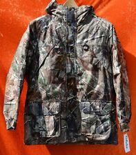 Cabela's YOUTH SILENT SUEDE DRY-PLUS Rain Coat Jacket Camo Realtree AP Camo XL