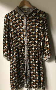 Gorman Cotton Button Up Dress Size 10