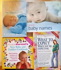 Pregnancy - Parenting, Bulk Lot 4 Books, What To Expect When You're ,.. GC-VG