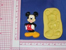 Mickey Mouse Silicone Mold #72 For Chocolate Candy Resin Fimo Candle Soap