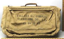 Vintage WW2 Uniform Suit Luggage Bag Military Issued Garment Travel Suit Case